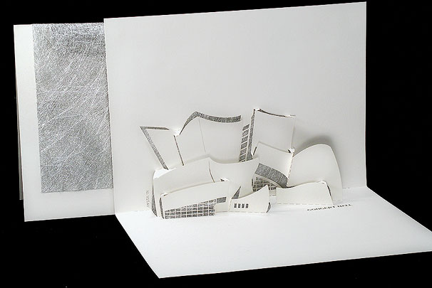Concert Hall - Origami Architecture Pop-Up Cards by Live Your Dream ...
