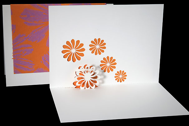 Flowers origami architecture pop up cards by live your dream designs flowers mightylinksfo